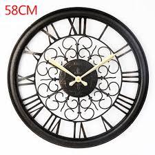 Horloge Mural 3d Achat Vente Pas Cher Pas Cher Montre Saat 3d Grand Mur Horloge Reloj De Pared Horloge