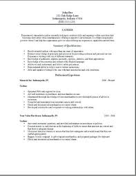 Cashier Resume Objective Convenience Store Free Edit With Word Career