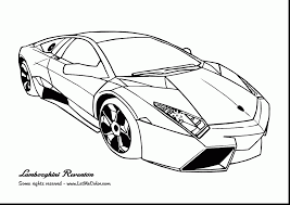 Fabulous Lamborghini Car Coloring Pages With Disney Cars And Pdf