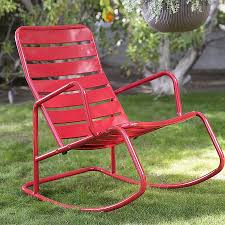 Rocking Chair : Metal Patio Rocking Chairs Luxury Shower ...