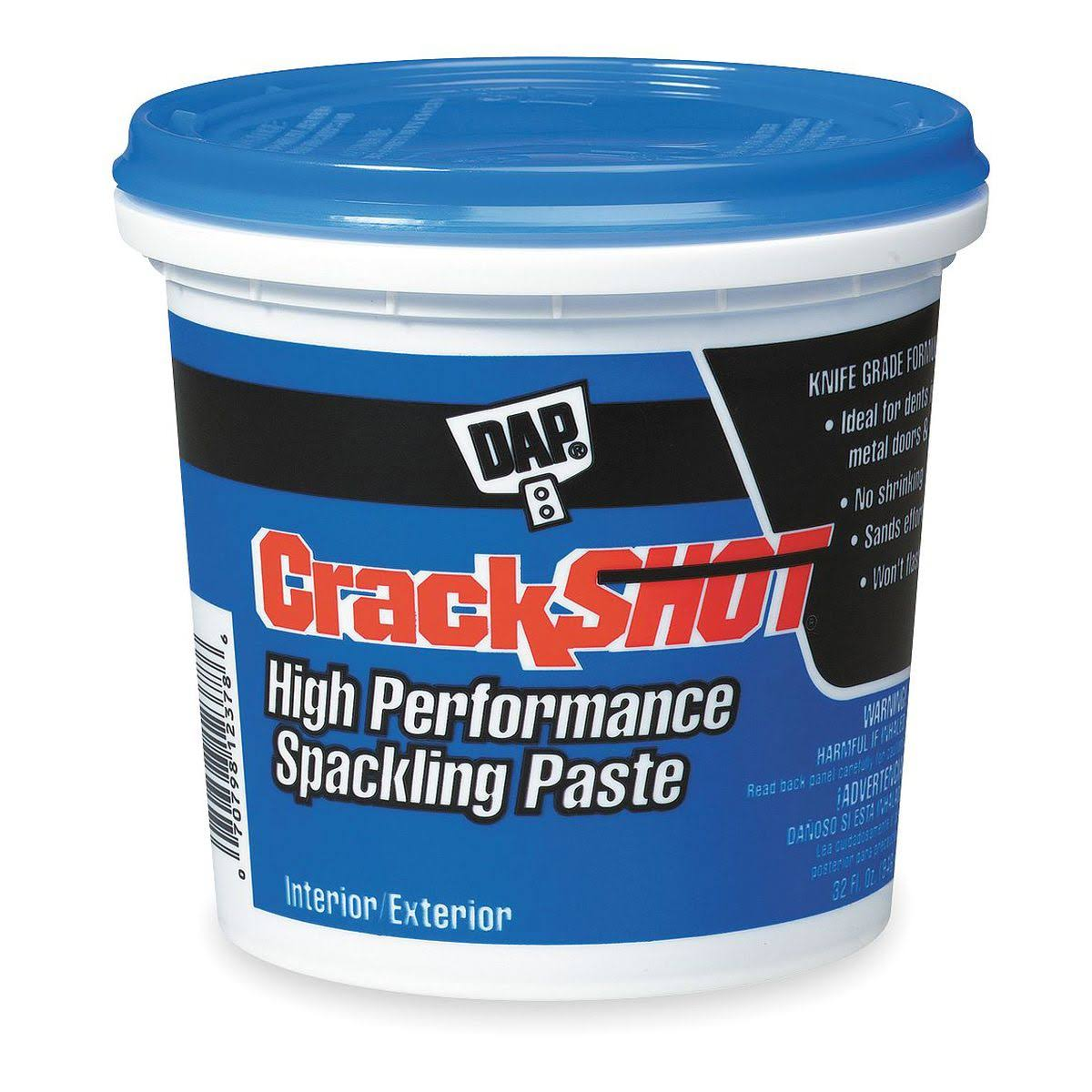 DAP Crackshot Spackling Paste - 946ml