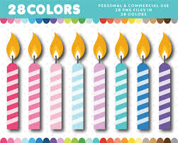 Birthday candle clipart CL 1172