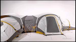 tente 4 places 2 chambres seconds family 4 2 xl quechua quechua my second home