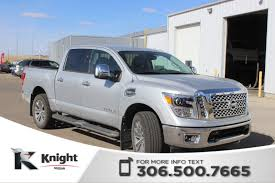 New 2017 Nissan Titan SL Crew Cab Pickup Near Moose Jaw #2349 ... Nissan Titan 65 Bed With Track System 62018 Truxedo Truxport Trucks For Sale In Edmton 2017 Crew Cab Pricing Edmunds Sales Are Up 274 Percent Over Last Year The Drive 2018 Titan Xd Truck Usa New For Warren Oh Sims 2016nisstitanxd Fast Lane Used 2012 4x4 Crewcab Sl Accident Free Leather Preowned 2013 Pro4x Pickup Cicero 2016 Titans Turbo Diesel Might Be Unorthodox But Its Review Autoguidecom News Partners With Cummins Diesel