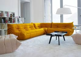 100 Ligne Rosse Togo Modular Corner Sofa Complete