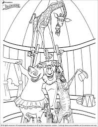 Madagascar Coloring Pages And Sheets Find Your Favorite Cartoon Picures In The Library