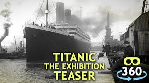 titanic 360º 4k teaser virtualreality 360video vr youtube