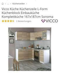 vicco arbeitsplatte küche