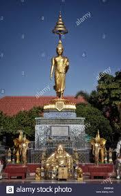 100 Banglamung Thai Buddhist Temple Known As Wat Wat Nonggatenoi Nong Pla Lai Stock