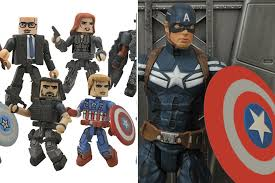 DST Sets Its Sights On Captain America The Winter Soldier With New Action Figures And Minimates