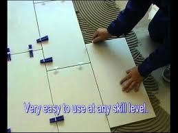 Floor Tile Leveling Spacers by Easytiler Tile Leveling System Youtube