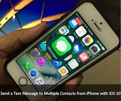 How to Send a Text Message to Multiple Contacts on iPhone 7 Plus