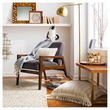 Oversized Sofa Pillows by Cream Linen Stripe Oversized Throw Pillow Threshold Target
