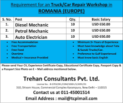 Requirement For An Truck/Car Repair Workshop In ROMANIA (EUROPE) Cat Diesel Mechanic Salary And Dog Lovers Auto The Best Of 2018 Average Of Repair Owners Chroncom Diesel Sale Floral Print Bomber Jacket Men Clothingdiesel River Valley Metro Vacancy Advertisement Whosale Prices Warp Accsories Btsdiesel 25 Top Florida Information Red Price White Silver Iron Bpack Mendiesel Printed Tshirt Men Clothingdiesel Jeans Salediesel