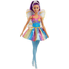Barbie Fairy Doll Purple Hair Fashion Dolls And Accessories