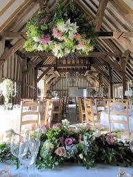 flower setting barn wedding Starr Farms Pinterest