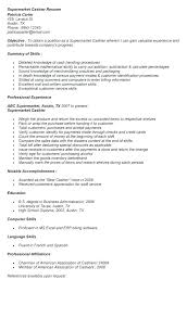 Grocery Store Resume Manager