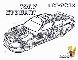 Coloring PagesNascar Page Full Force Race Car Pages Inside Nascar