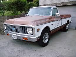 100 Cheyenne Trucks My 72 20 Custom Camper Chevy Colorado GMC Canyon