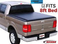 Leer Bed Covers by Used 8ft Black Leer Aluminum Truck Cap Ebay