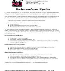 Objective Example For Resume Accounting Statement Examples Entry Level Human