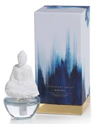 Aurora Candle Warmer Replacement Bulbs by Mantra Buddha Zodax Porcelain Diffuser Blue Lotus Fragrance