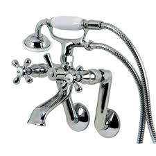 Kingston Brass Faucets Canada by Kingston Brass Victorian 3 Handle Tub Wall Claw Foot Tub Faucet