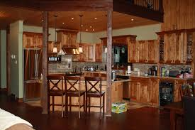 Log Cabin Kitchen Cabinet Ideas by Log Kitchen Amazing Luxury Home Design