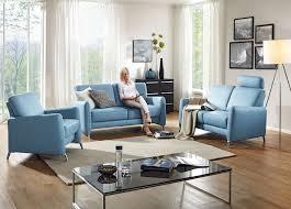 sofa 2 sitzer stilla hellblau