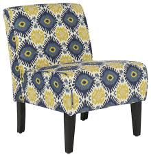 wonderful blue and white accent chair shop blue white