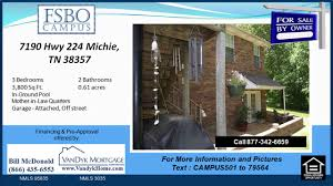 3 Bedroom Houses For Rent In Jackson Tn by 5 Bedroom House For Sale With Mother In Law Suite In Michie Tn On