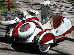 Yet Another Classic Scooter With Side Car