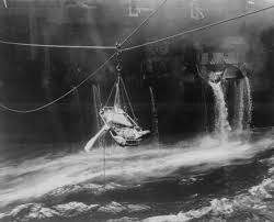 Uss America Sinking Photos by World War Ii Photos National Archives