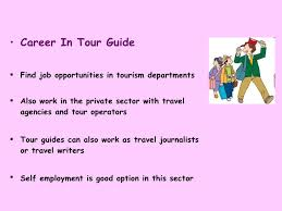 Career In Travel Tourism