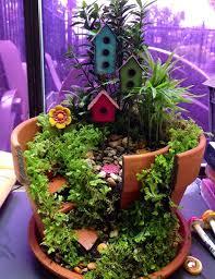 15 DIY Broken Pot Fairy Garden Ideas Diy Crafts You & Home Design