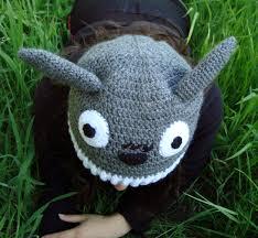 Gorro de lana Totoro Ganchillo Crochet Mis gorros