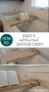 how to build a bathtub caddy bathtub caddy bathtubs and craft