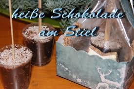trinkschokolade am stiel diy geschenke zu weihnachten