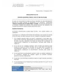 Carta Poder Anses Argentina