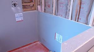 Glass Tile Over Redguard by How To Install Shower Surround Tile Backer Board Durock Or Cement