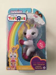 100 Authentic WowWee Fingerlings Baby Unicorn Gigi Pink Toys R Us TRU Exclusive