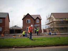 House Building by Housing Minister Says Building More Council Homes Will
