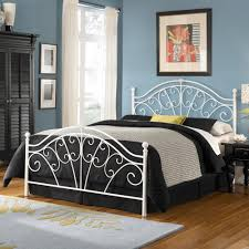 Wrought Iron King Headboard by Inspirations Bedroom Astounding Wrought Iron Ideas With White