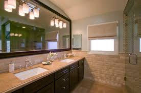 Bathroom Mosaic Mirror Tiles by Beveled Tile Beveled Subway Tile Westside Tile And Stone