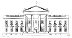 Click The White House Coloring Pages