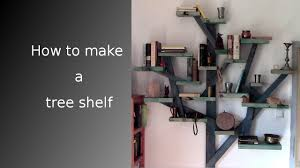 100 Tree Branch Bookshelves How To Make A Shelf 9 Steps With Pictures