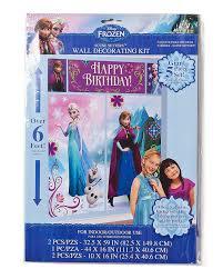 Halloween Scene Setters Uk by Disney Frozen Scene Setter Plastic Wall Decorating Kit Amazon Co