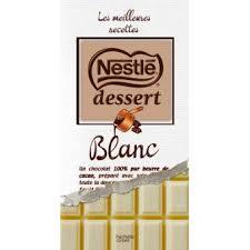 nestlé dessert au chocolat blanc relié collectif achat livre