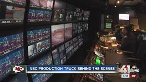 100 Production Truck Behindthescenes NBC Production Truck YouTube