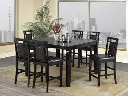 Dining Table Set Walmart Canada by Aliya 7 Piece Pub Set Table 6 Stools Espresso Walmart Canada